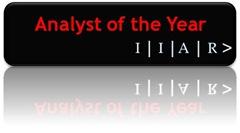 IIAR Analyst of the Year