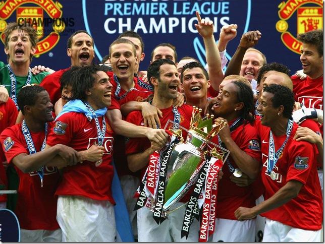 Man Utd champions
