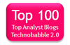 Technobabble Top 100 Analyst Blogs